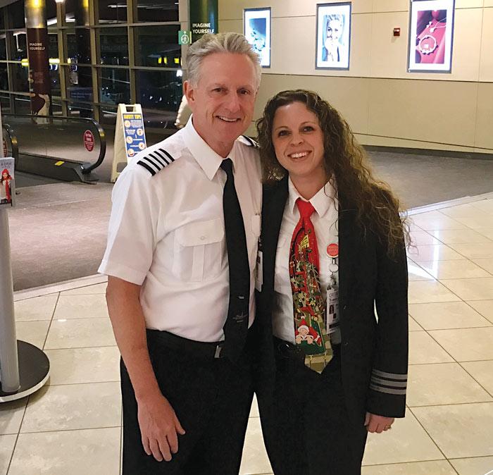 Raised on Jet Fuel: Capt  Kristin Rice Achieves Lifelong